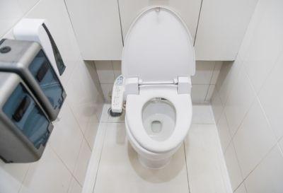 Toilettenhocker Studie Haushalts Mittel Dusch Wc
